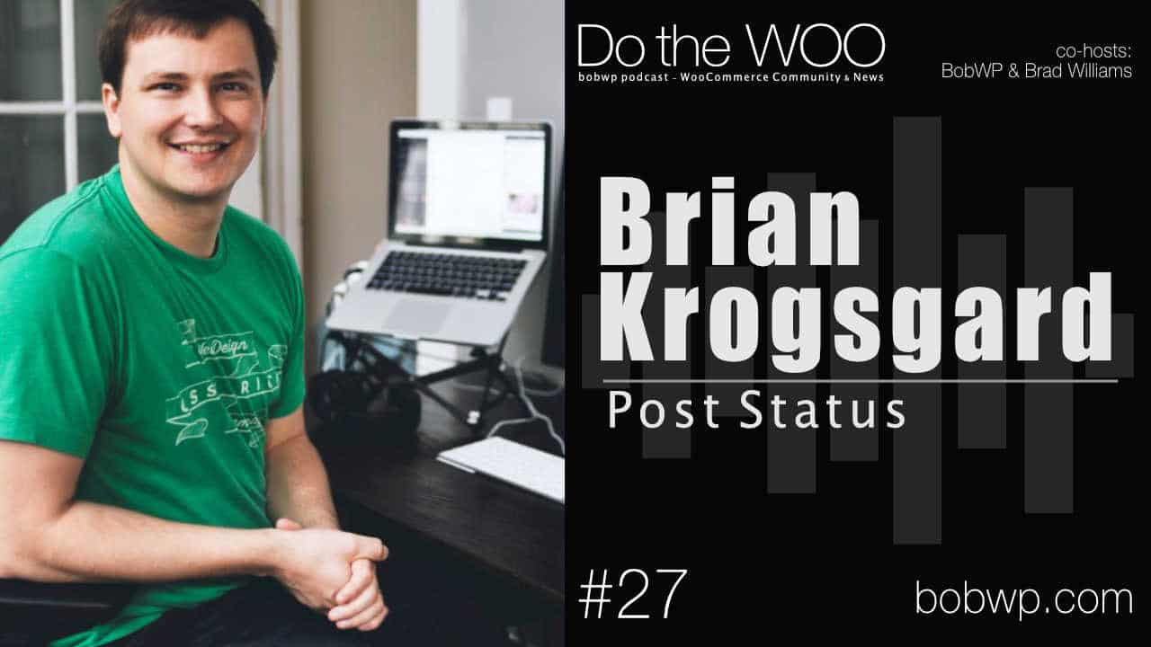 Do the Woo Podcast with Brian Krogsgard Episode 27