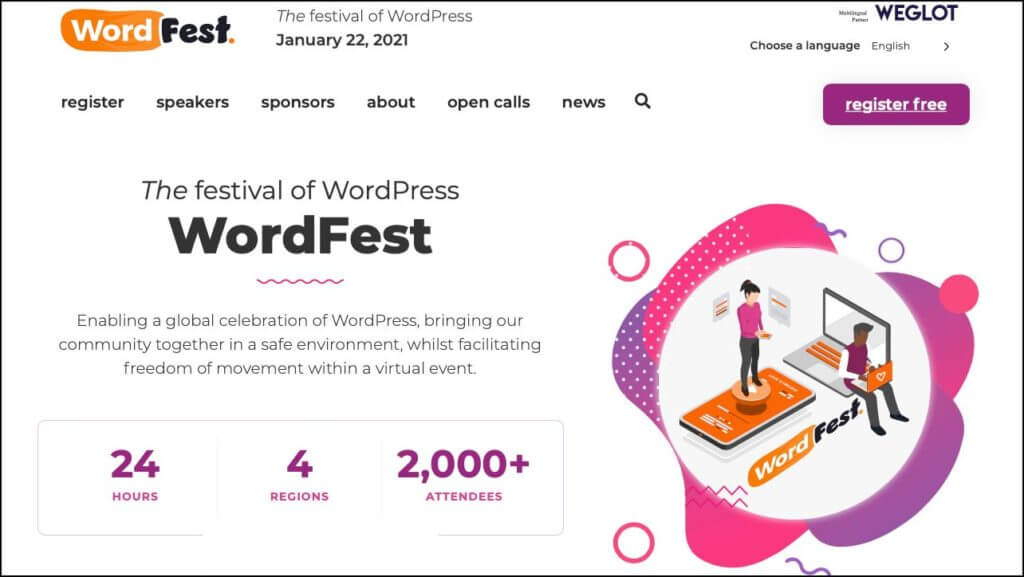 WordFest January 22