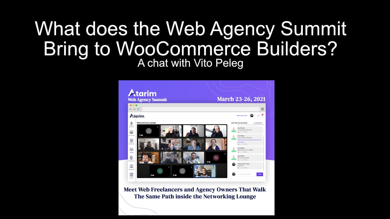 A Chat with Vito Peleg about the Atarim Web Agency Summit
