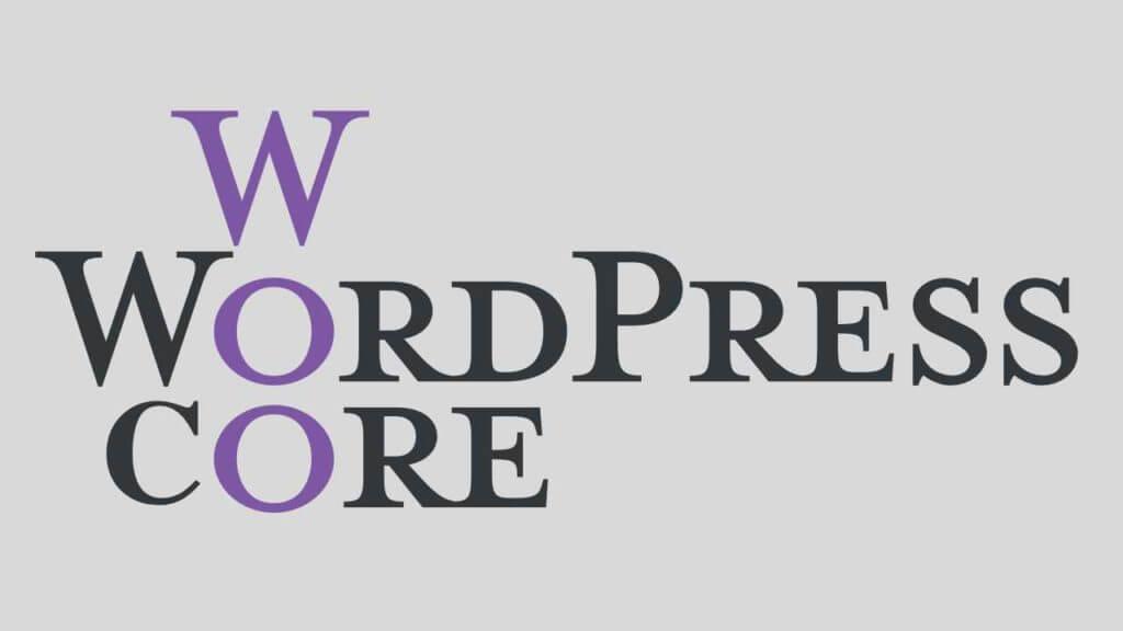 wordpress core woo